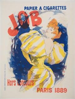 Papier à Cigarettes Job - Lithograph (Les Maîtres de l'Affiche), 1895