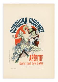 Quinquina Dubonnet, Belle Epoque aperitif lithograph, 1896