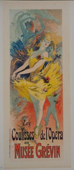 The ballerinas - Lithograph (Les Maîtres de l'Affiche), 1895