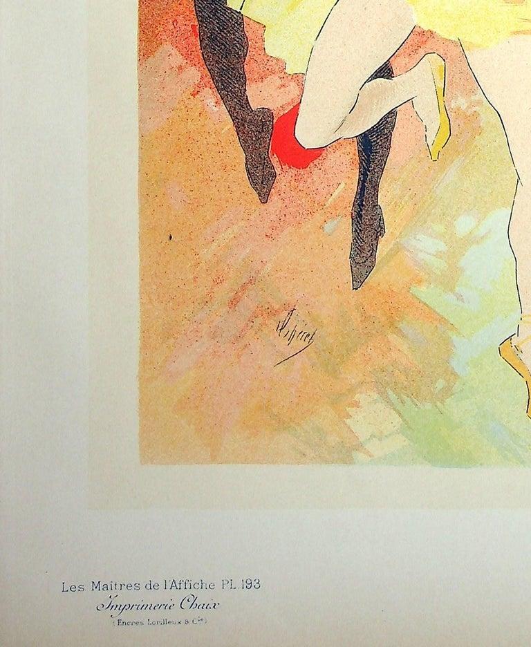 The Dance - Original Lithograph (Les Maîtres de l'Affiche), 1900 - Art Nouveau Print by Jules Chéret