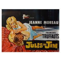"""Jules Et Jim"" 1962 Poster"