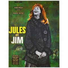 """Jules Et Jim"" '1962' Poster"