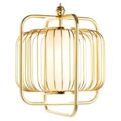 Jules III Suspension Lamp Brass