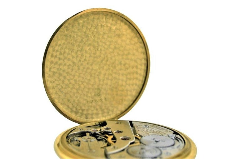 Jules Jurgensen Pocket Digital Time Calendar Watch For Sale 1