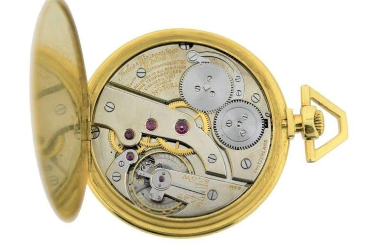 Jules Jurgensen Pocket Digital Time Calendar Watch For Sale 2