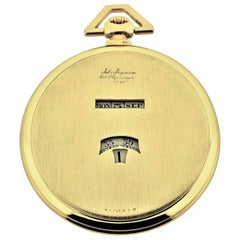 Jules Jurgensen Pocket Digital Time Calendar Watch