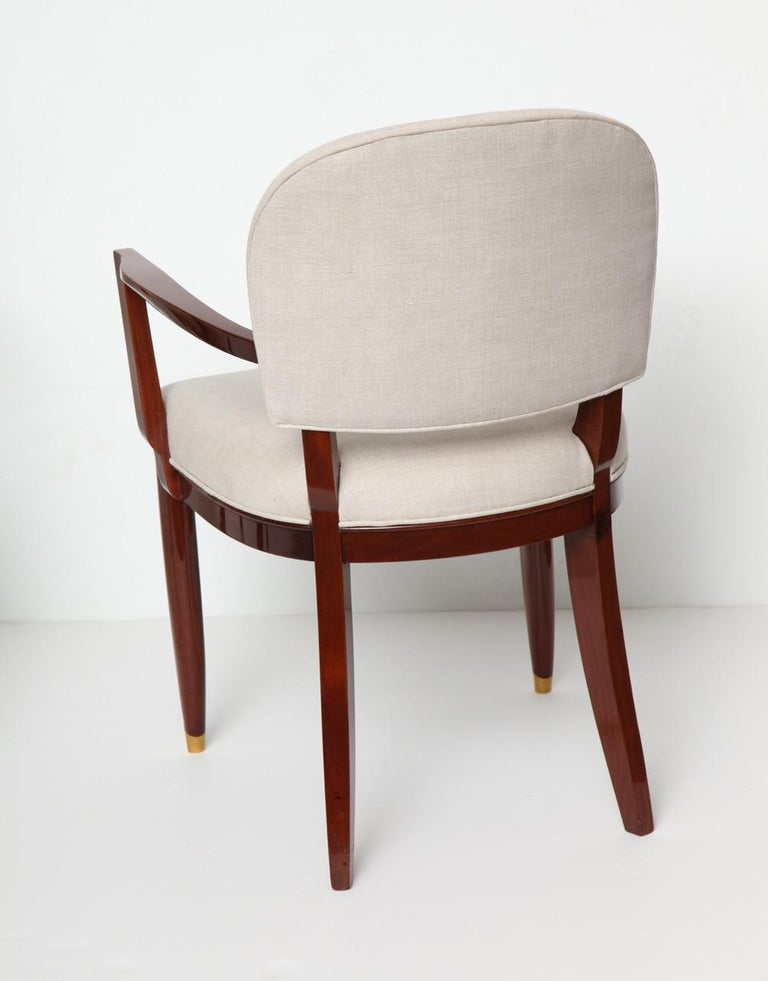 Jules Leleu, Art Deco Armchair, France, circa 1936 In Good Condition For Sale In New York, NY