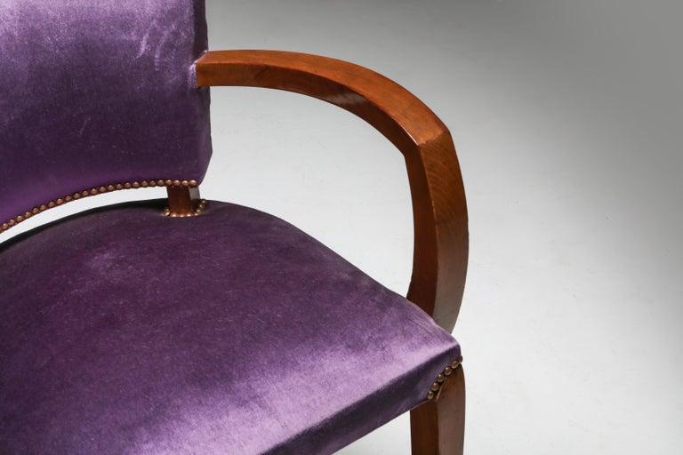 Jules Leleu Art Deco Armchairs 1