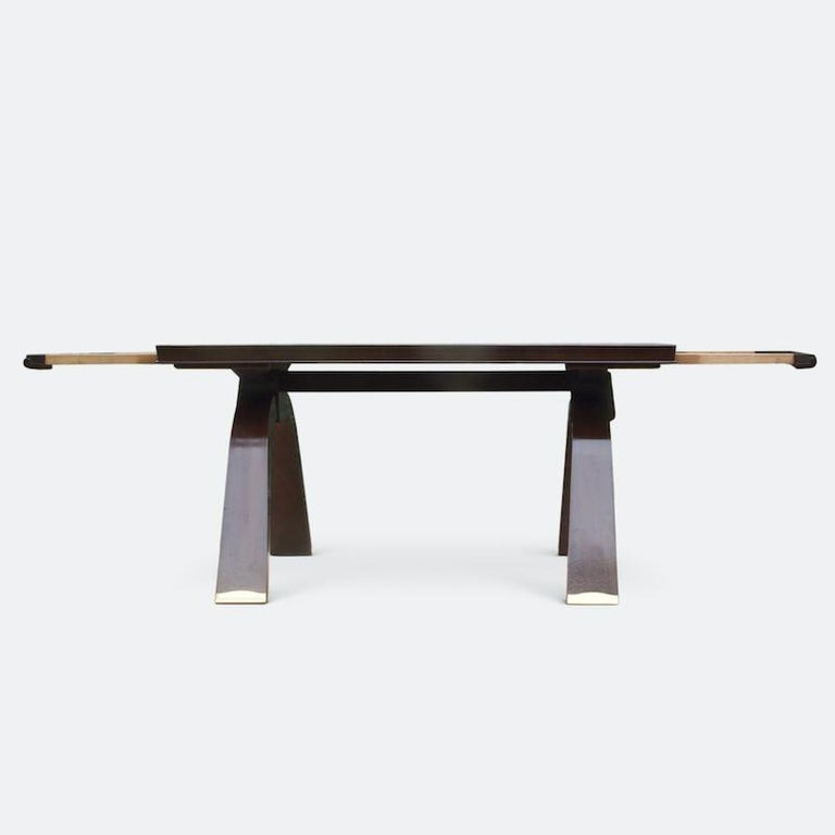 Jules Leleu Dining Table, 1930s For Sale 4