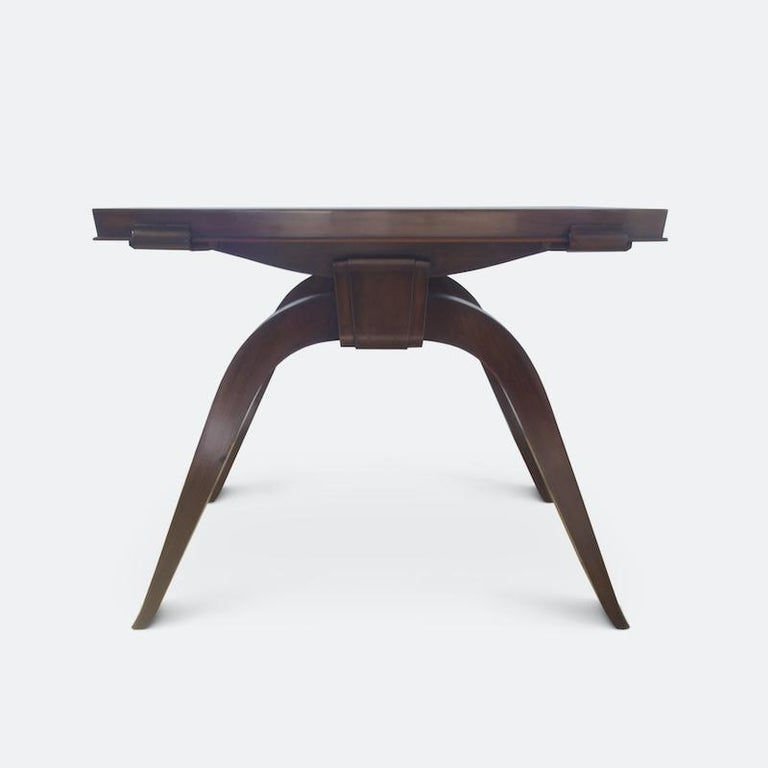 Jules Leleu Dining Table, 1930s For Sale 1