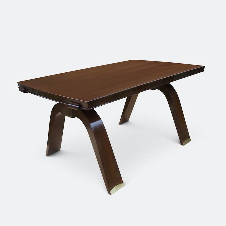 Jules Leleu Dining Table, 1930s For Sale 2