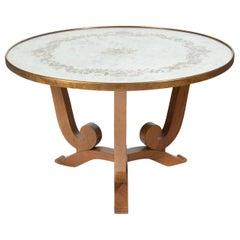 Jules Leleu, Pedestal Table, circa 1930