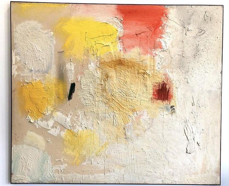 Jules Olitski Figurative Painting - Ritual of L