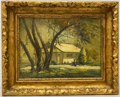 Jules Eugene Pages Original Oil Painting c.1920