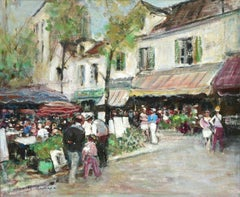 Les Artistes a Place Du Tertre