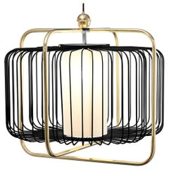 Jules Suspension I Lamp with Brass