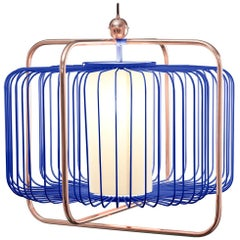Jules Suspension I Lamp with Copper