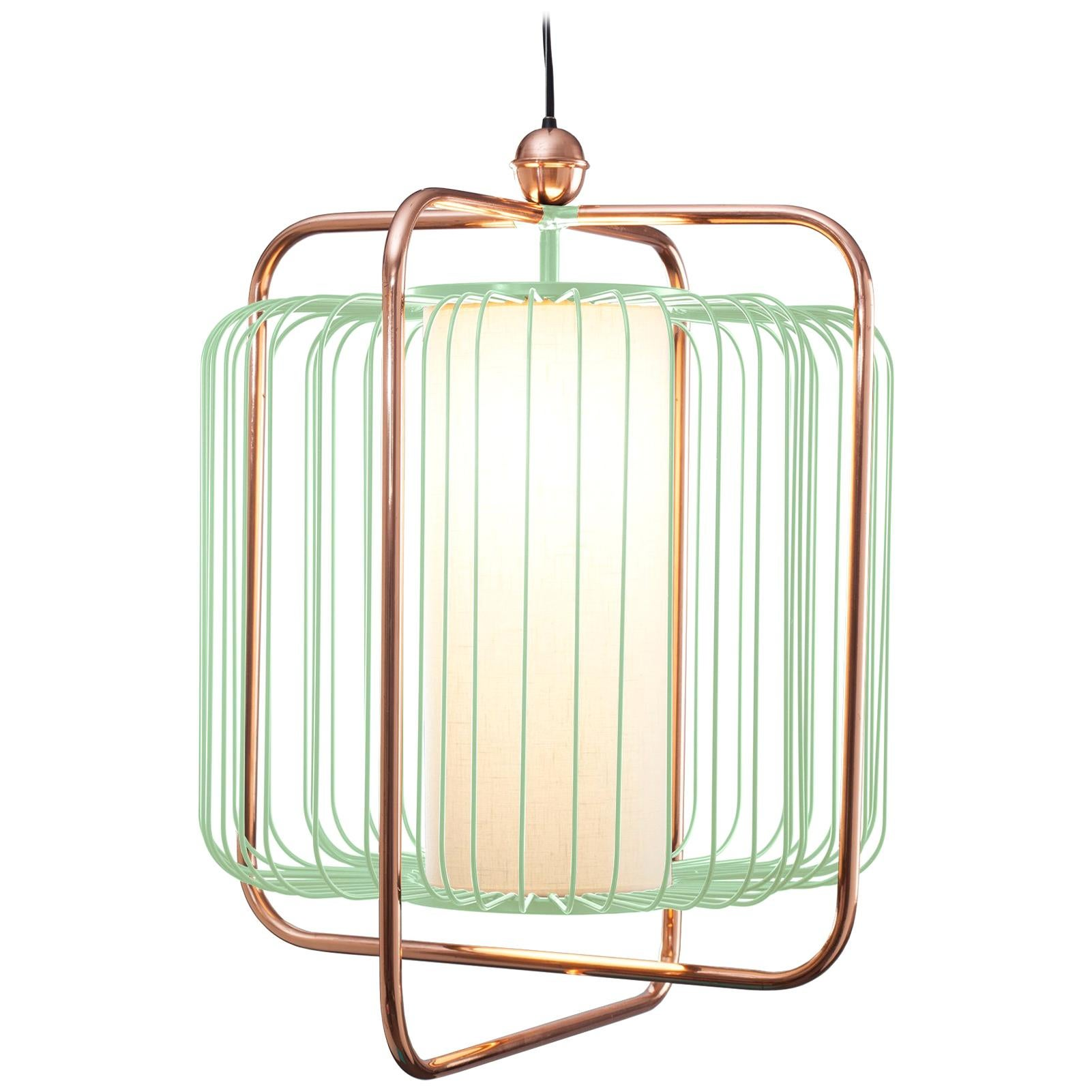 Jules Suspension Lamp with Copper