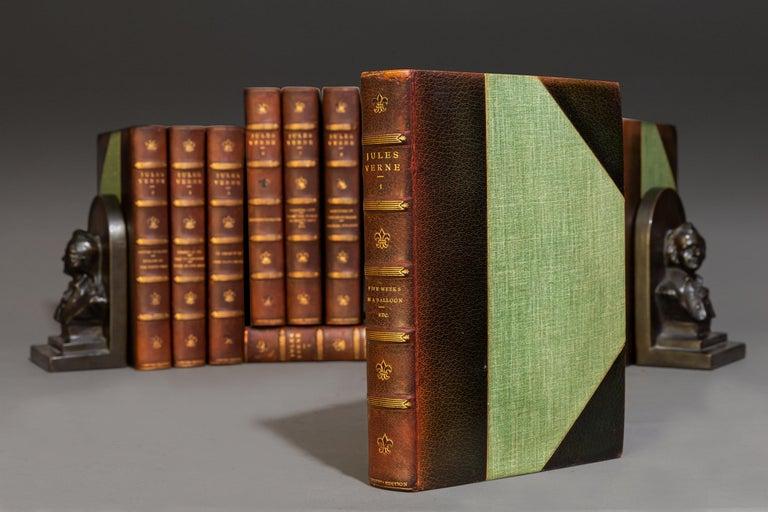 English Jules Verne, Complete Works For Sale