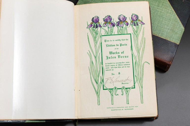 20th Century Jules Verne, Complete Works For Sale