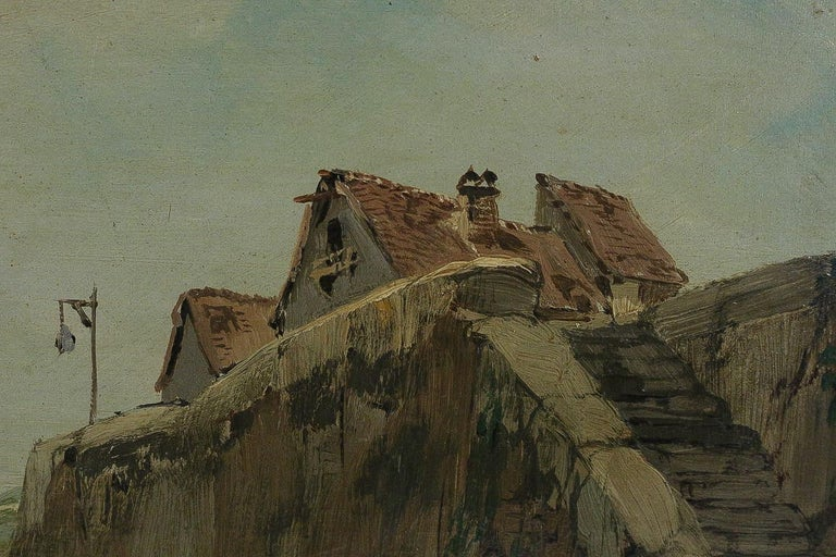 Jules Véron-Faré Oil on Canvas Scene of Navy, circa 1880-1890 For Sale 2