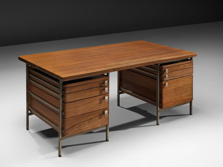 Belgian Jules Wabbes Desk Foncolin Desk For Sale
