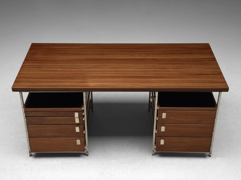 Jules Wabbes Desk Foncolin Desk In Excellent Condition For Sale In Waalwijk, NL