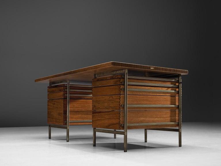 Jules Wabbes Desk Foncolin Desk In Good Condition For Sale In Waalwijk, NL