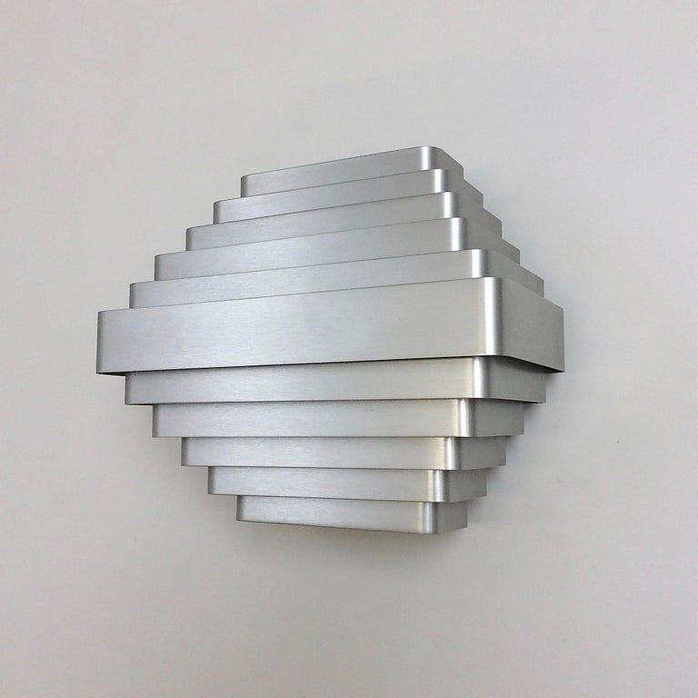 Jules Wabbes Large Wall Lamp, Belgium, circa 1970 In Good Condition For Sale In Brussels, BE