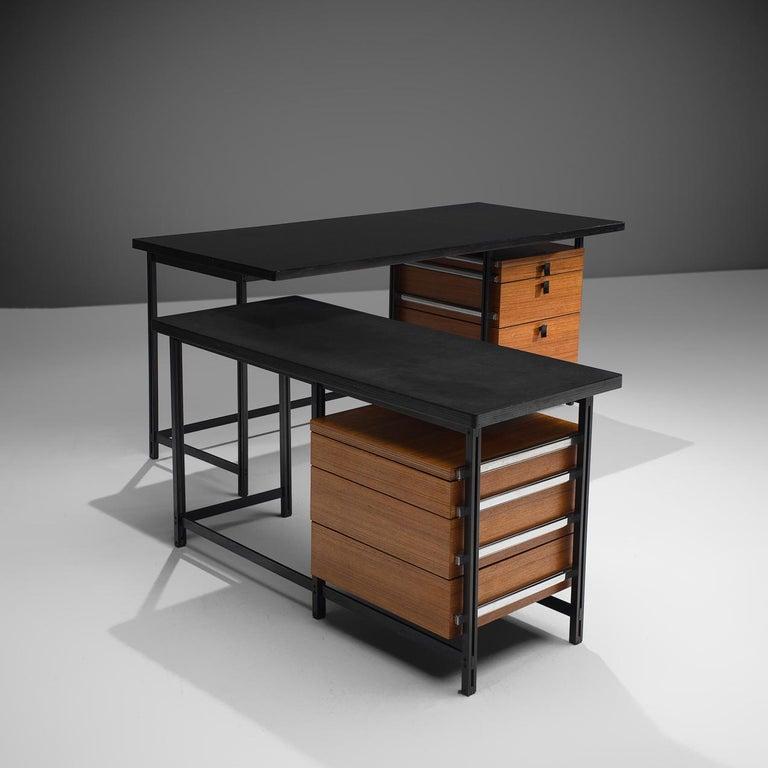Jules Wabbes Versatile Free-Standing Corner Desk For Sale 2
