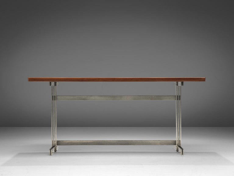 Mid-Century Modern Jules Wabbes Wenge Writing Table For Sale