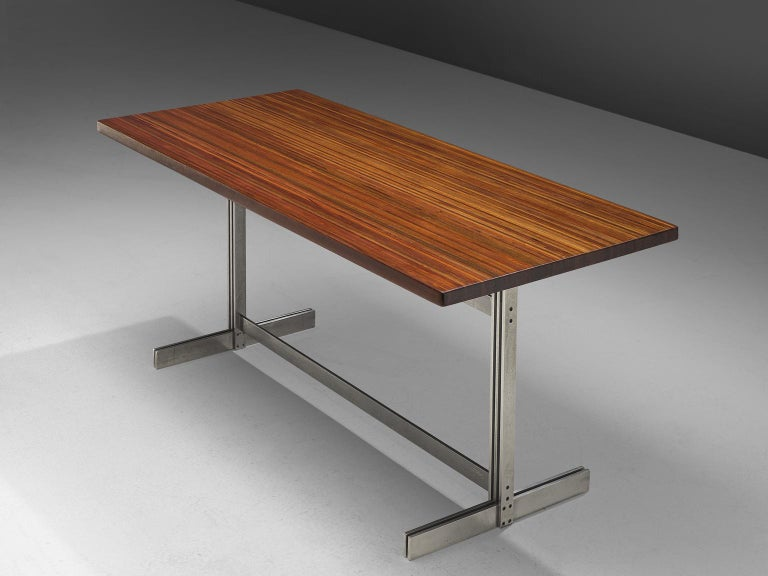Belgian Jules Wabbes Wenge Writing Table For Sale
