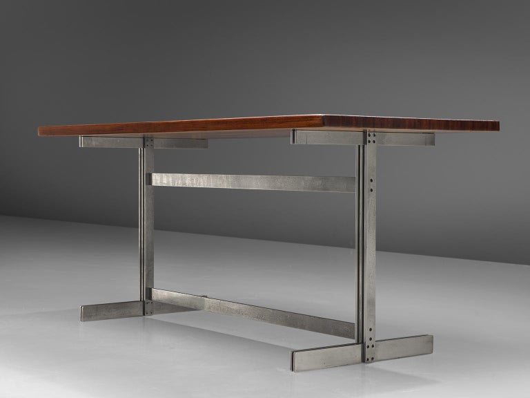 Jules Wabbes Wenge Writing Table For Sale 1