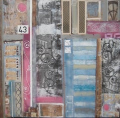 Julia Adams, Architectural Influences 43, Contemporary Art, Affordable Art