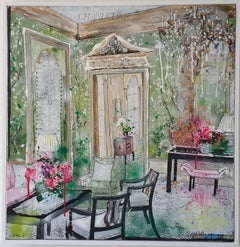 Julia Adams, Colour is Everything, Original Bright Interior Painting, Affordable