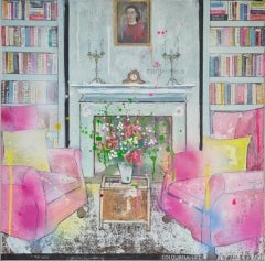 Julia Adams, Colourful Life, Contemporary Art, Affordable Art