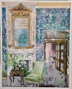 Julia Adams, Interior Splendour, Original Interior Painting, Contemporary Art