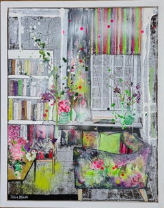Julia Adams, Pattern Passion, Original Interior Painting, Contemporary Art