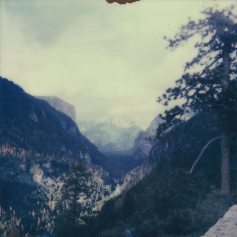 Julia Beyer Landscape Photograph - Chase The Blues Away - Contemporary, Polaroid, 21st Century, Landscape