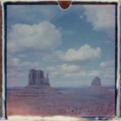 Chasing Horizons - Contemporary, Polaroid, 21st Century, Landscape
