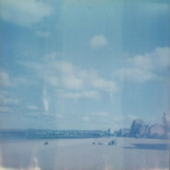 Day at the Beach - Contemporary, Polaroid, Photography, Landscape, Color