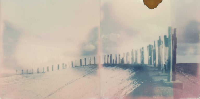 Julia Beyer Color Photograph - Follow The Tracks
