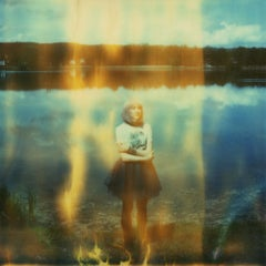 Galaxy Jump - Contemporary, Polaroid, 21st Century, Photography, Color