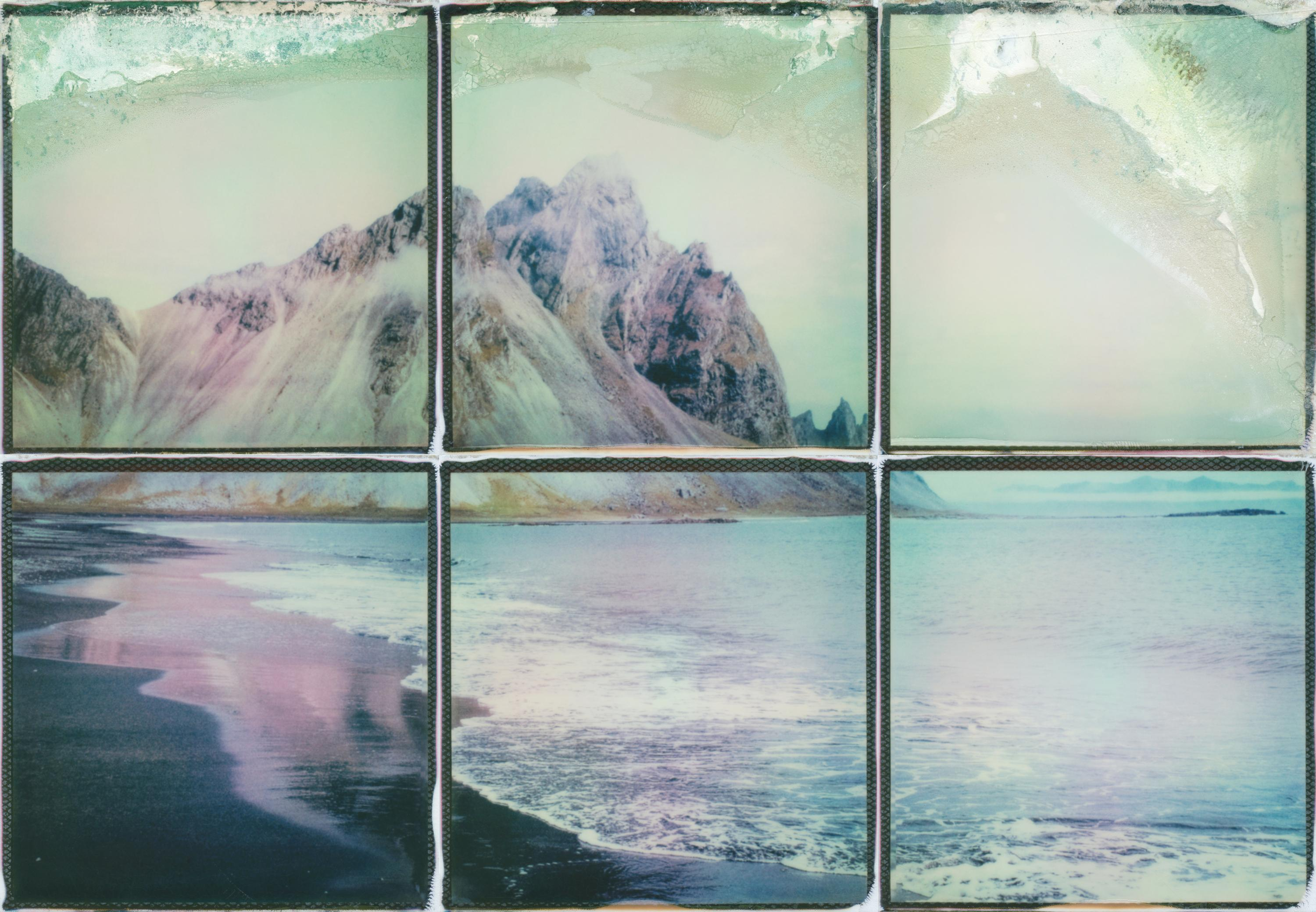 Home By The Sea - Contemporary, Polaroid, 21st Century, Landscape