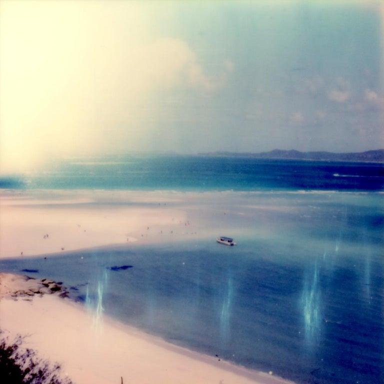 Julia Beyer Landscape Photograph - Lazy Calm - Contemporary, Polaroid, Photography, Landscape, Color