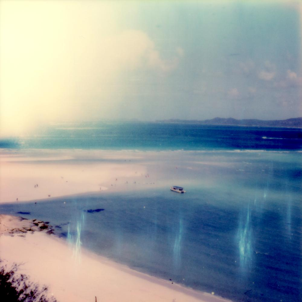 Lazy Calm - Contemporary, Polaroid, Photography, Landscape, Color