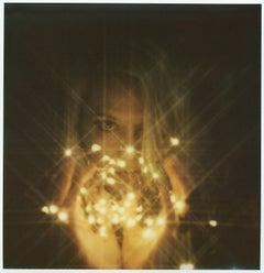 Light my Fire - Contemporary, Figurative, Woman, Polaroid, Photograph, Dream