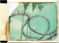 Like a Rollercoaster - Contemporary, Polaroid, 21st Century, Photography, Landsc
