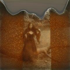 Listen To The Silence - Contemporary, Polaroid, Photograph, Figurative