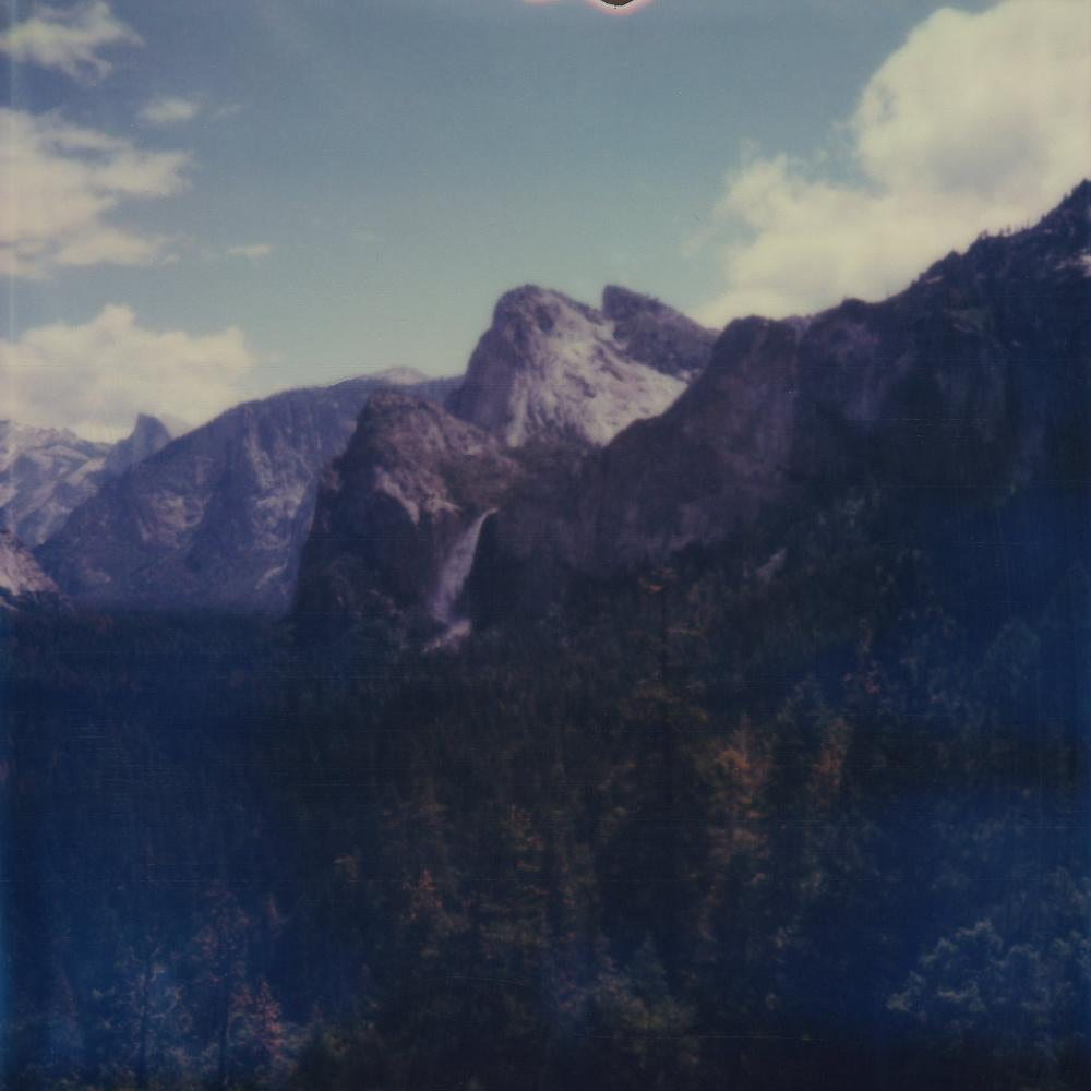 Meet Me In Heaven (America) - Contemporary, Polaroid, 21st Century, Landscape